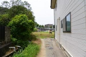小丹神社から県道10号への近道(?)、車両通行不可