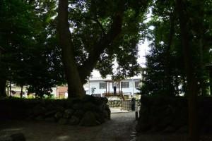 志等美神社、大河内神社(共に豊受大神宮摂社)からの風景