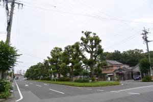 JR参宮線 山田上口駅前通