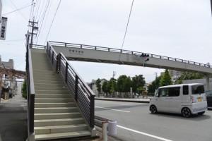 伊勢市宮町歩道橋(今社付近)
