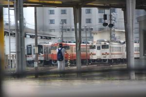 キハ40系 新旧勢揃い(JR伊勢市駅)