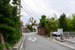 西コミュニティセンター付近(伊勢市二見町西)