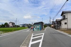 旧道の合流点(国道42号荘1交差点〜汐合橋)