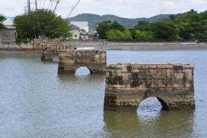 神都線 汐合鉄橋跡(五十鈴川左岸より)