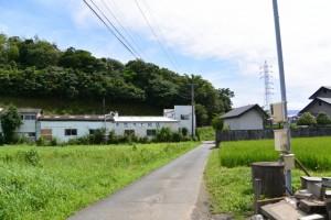 橘神社から南方向へ(伊勢市黒瀬町)