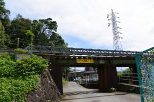 JR参宮線 伊勢市 五十鈴ケ丘間 西川架道橋