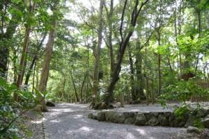 上御井神社(豊受大神宮所管社)の遙拝