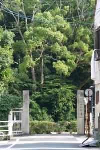 山田工作場の入口の遠望