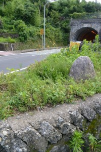天神丘トンネル付近(伊勢市浦口)