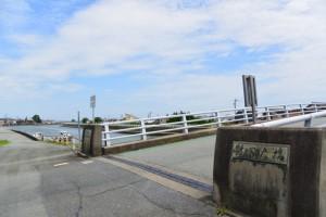 勢田大橋(勢田川)の左岸側