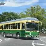 路線バスとなった神都バスとの遭遇(外宮付近)