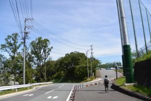 倉田山公園野球場付近