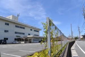 御塩道(三重県立伊勢工業高等学校前)