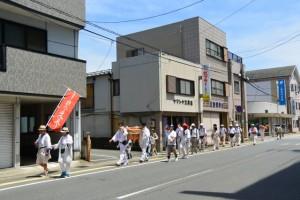 御塩道(JR参宮線 吹上町踏切〜吹上交差点)