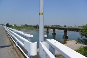 宮川橋から望む宮川桜の渡し全景
