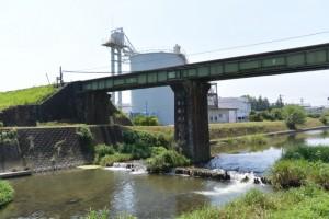 JR参宮線 宮川(ひ)橋りょう(汁谷川)