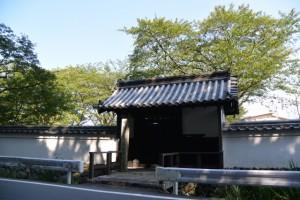 史蹟 舊豊宮崎文庫の正門