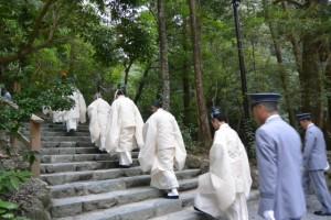 風日祈祭、多賀宮への参進(外宮)