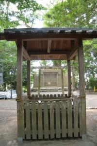 志等美神社・大河内神社の仮殿となっている打懸神社(豊受大神宮末社)