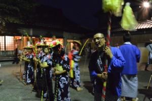 麻加江かんこ踊り、大名行列(慶林寺)