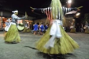 麻加江かんこ踊り(慶林寺)