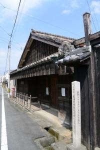 松浦武四郎生家(伊勢街道)