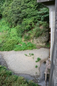河内ダムの上流側(鳥羽市河内町)
