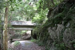 鳥羽河内川に架かる橋(鳥羽市河内町)