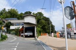 近鉄志摩線 中之郷駅付近の分岐