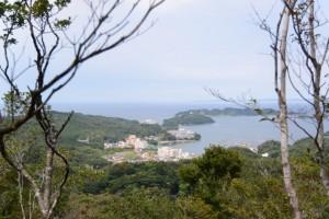樋の山山頂から望む小浜方向