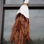 台風15号の強風に耐えた御神杉(赤崎神社)