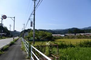 国道42号(JR参宮線 松下駅付近)