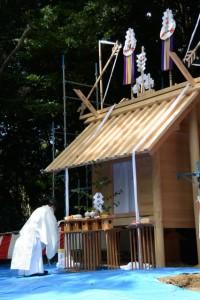 上棟祭(松下社)