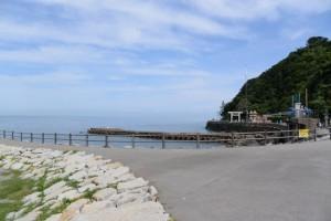 二見浦海岸 突堤