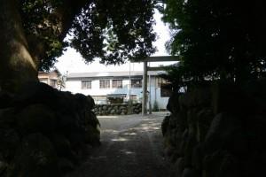 打懸神社(豊受大神宮末社)付近