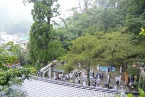 お木曳を終えて(賀多神社)