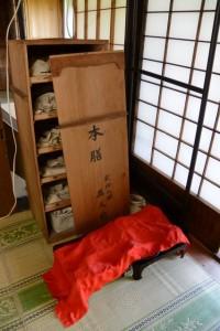 本膳料理の食器類(むかしのくらし博物館)