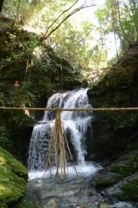 金輪不動明王の滝(大紀町金輪)