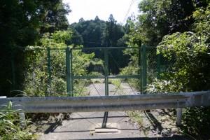 旧金輪橋(藤川)、右岸