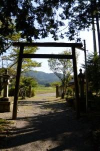 櫃井原神社からの風景(大紀町金輪)