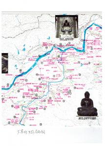 大宮町史跡分布図