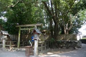 「かみやしろ港まつり」の日の御食神社(豊受大神宮摂社)