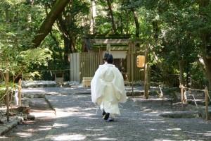 高河原神社への参進(月夜見宮 秋季大祭にて)