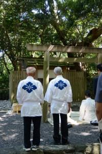 高河原神社での祭典(月夜見宮 秋季大祭にて)