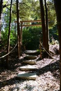 (15) 上之郷の石神の鳥居