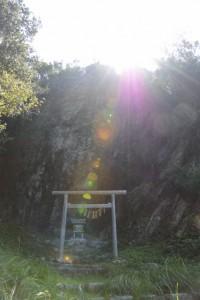 鸚鵡岩(おうむいわ)