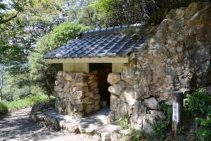 鸚鵡岩の語り場