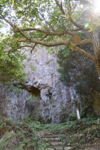 倭姫機織場(鸚鵡岩付近)
