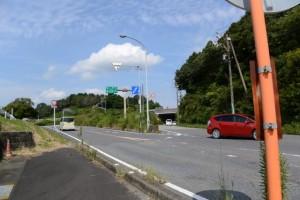名阪国道への分岐(県道10号)