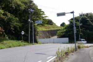 亀山市(関町)と津市(芸濃町)との境界